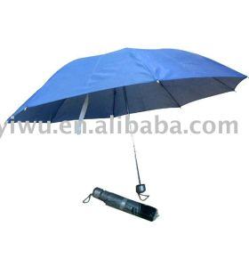 Blue Three Fold Umbrella