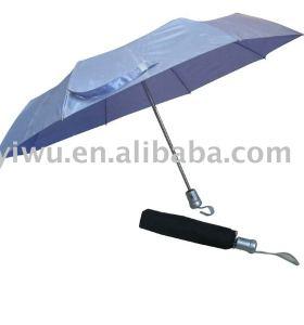 Gray Three Fold Umbrella