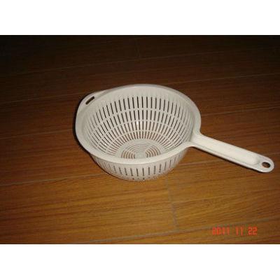 New handle mesh basket solid plastic small plastic baskets 5