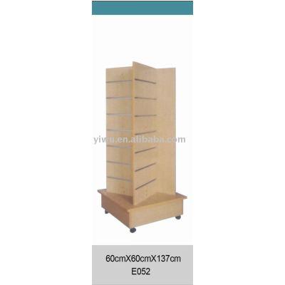 Wooden show shelf