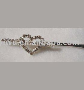 rhinestone clip
