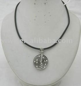 White rhinestone necklace