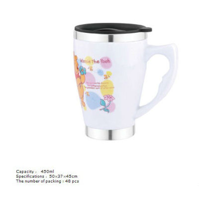 New stainless steel ceramic cup 6115