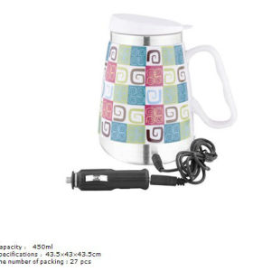 New car stainless steel ceramic cup 6117