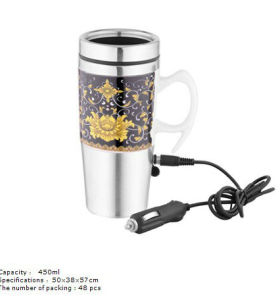 New car stainless steel ceramic cup 6123