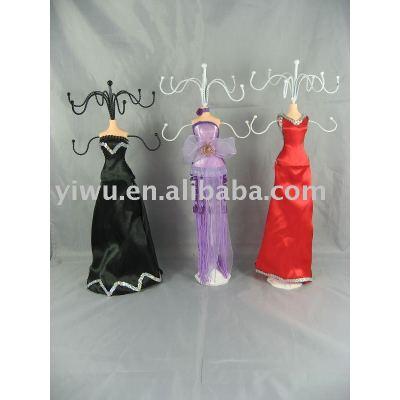 jewelry display, jewellery display,earring display,jewelry doll display, necklace doll holder, jewelry tree stand, jewelry stand