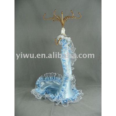 Jewelry display doll