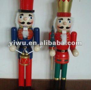wooden Christmas nutcrackers