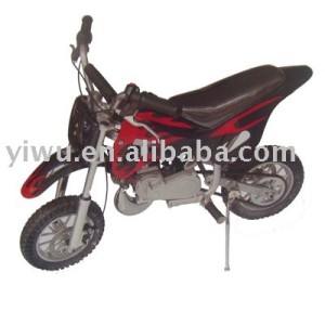 Black color two stroke pull starting system 49CC motorcycle