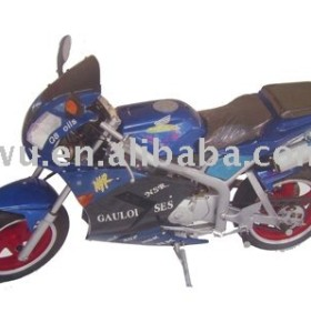 Blue color four stroke electric starting system 110CC motorcycle