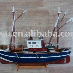 Wood Ship Boat Craftwork