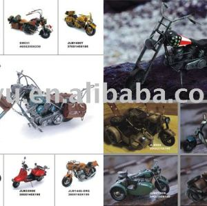 Motorcycle Model, Metal Motorcycle Model, Antique Model