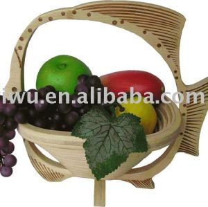 Bamboo Fruit Basket,Bamboo Craft Basket, Bamboo Basket