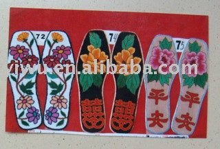 embroider insole
