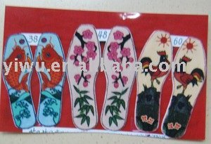 hand-made insole