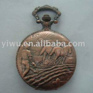 Pocket Watch with Chain