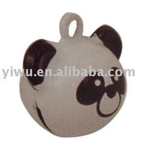 Bear copper jingle bell
