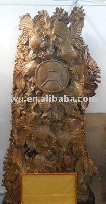 Sell wooden sculpture