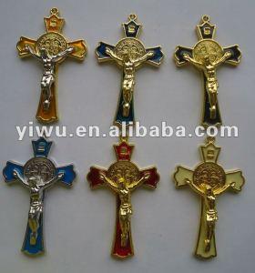 Small Metal Jesus Cross