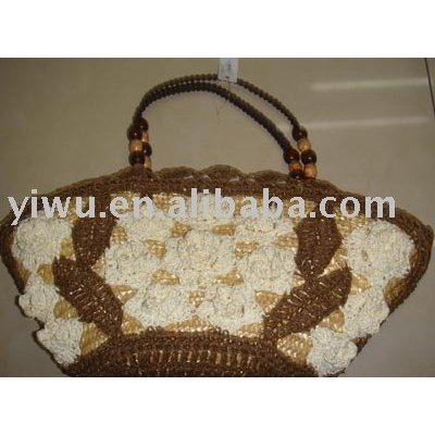 Lady straw bag