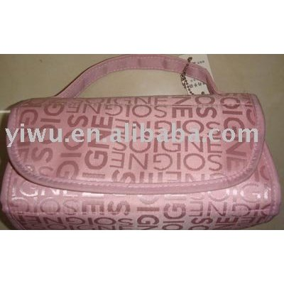 Lady dressing bag