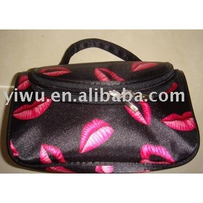 Lady dressing bag