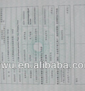 Yiwu Export Licence Services ( YIWU COMMODITY IMPORT AND EXPORT CO., LTD.)