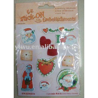 Scrapbook Paper Sticker