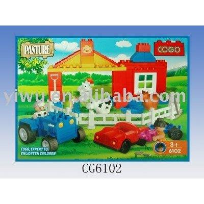 COGO Toy Bricks,Plastic Toy Bricks, Brick Toy