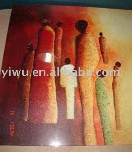 Items in Yiwu China (oil painting )