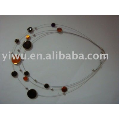Oil and Alloy Necklace