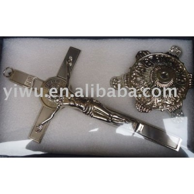 metal jesus cross