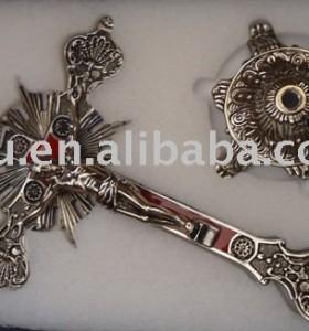 metal jesus cross