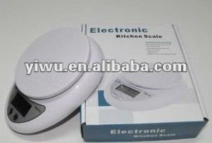 kitchen scale, electronic scales kitchen scales kitchen says, glass kitchen scale 5 KG / 1 G