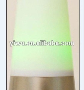 LED LAMP WITH CHANGING LIGHTS