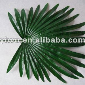 imitation flowers Artificial palm leaves