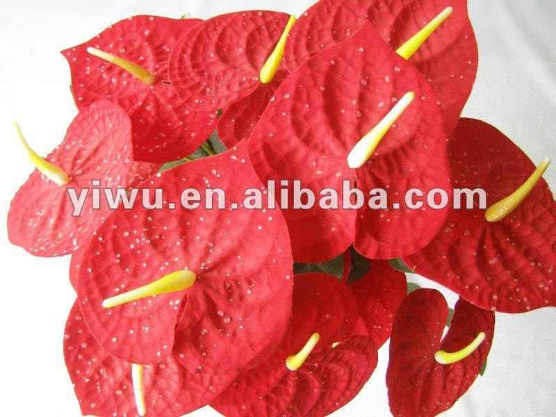 imitation flowers Artificial leaves