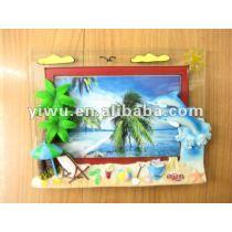 OEM resin photo frame sea world dolphin series