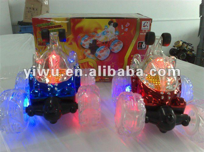 fire ball racing toy light car , shining car toys for children