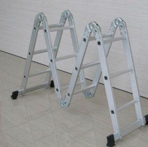 Multifunctional ladder 4*2 1.1 aluminium ladder multipurpose ladder aluminium cat ladder