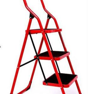 3 steps ladder Steel tube step ladder