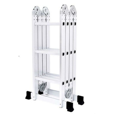 Multifunctional ladder 4*5 aluminium ladder easy folding aluminium ladder