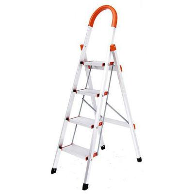 Household adjustable step ladder safety step ladders 4 steps alumnium ladder