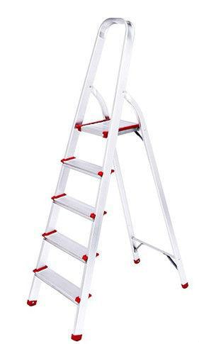 New Household step ladder 5 steps 1.2 mm alumnium ladder