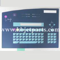 Imaje Classic keyboard membrane S8 ENM19617
