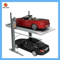 Double layers assemble car parking system