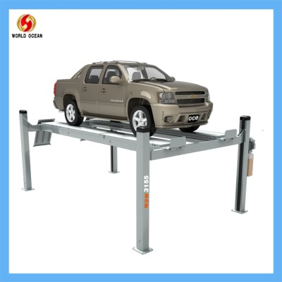 4 post car lifting equipment 4200kgs/1800mm