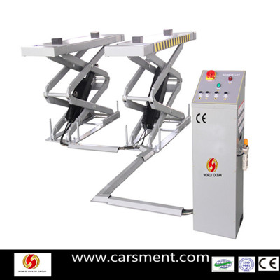 New Product for 2013 in ground car scissor lift  for sale with CE certificate