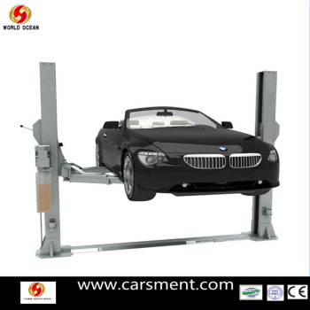 New Product for 2013 Two post 4.0T hydraulic car floor lift with CE