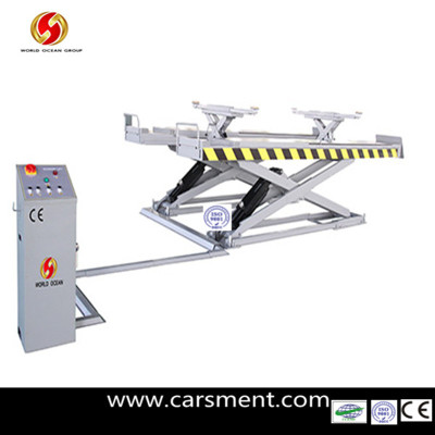 New Product 2013 Hot Sale Alignment Scissor Car Lift CE standard 4000kgs